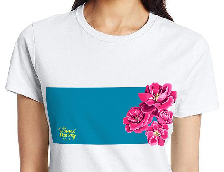 Dianne's Florida Rose T‑Shirt For Sale